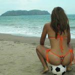 Fotos amadoras da namorada novinha na praia