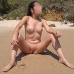 Melissa do tigrão completamente pelada na praia