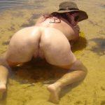 Fotos da esposa completamente nua na praia